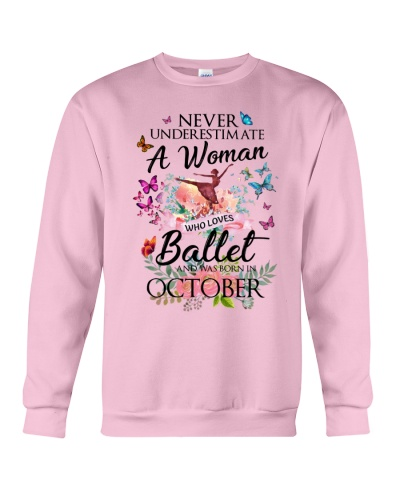 A Woman Who Loves Ballet And Born In October