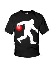 Bigfoot Bowling Youth T-Shirt thumbnail