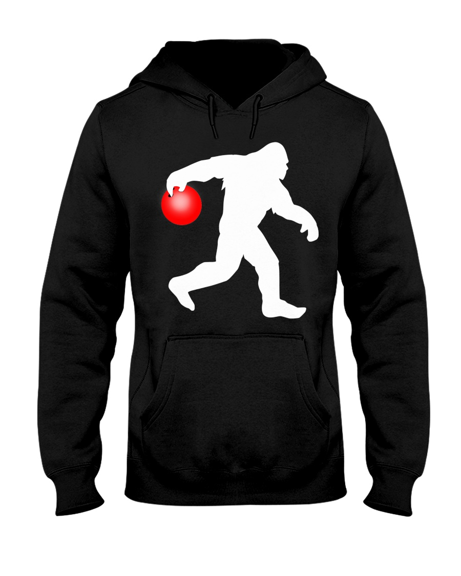 Bigfoot Bowling Hooded Sweatshirt