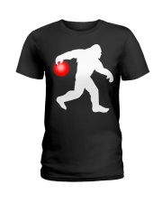 Bigfoot Bowling Ladies T-Shirt thumbnail