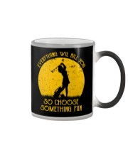 Choose something fun gofl Color Changing Mug thumbnail
