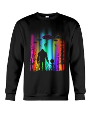 Bigfoot Forest Alien Crewneck Sweatshirt thumbnail