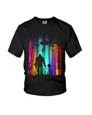 Bigfoot Forest Alien Youth T-Shirt thumbnail