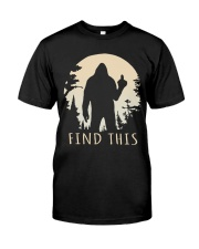 Find this bigfoot Classic T-Shirt front