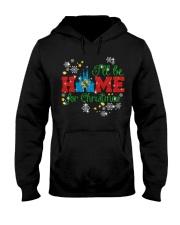 Home for christmas Oklahoma 9992 0037 Hooded Sweatshirt front