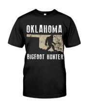 Oklahoma Bigfoot Hunter Classic T-Shirt thumbnail