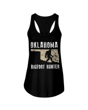 Oklahoma Bigfoot Hunter Ladies Flowy Tank thumbnail
