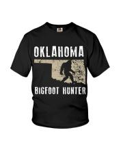 Oklahoma Bigfoot Hunter Youth T-Shirt thumbnail