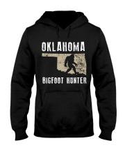 Oklahoma Bigfoot Hunter Hooded Sweatshirt front