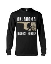 Oklahoma Bigfoot Hunter Long Sleeve Tee thumbnail