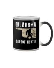 Oklahoma Bigfoot Hunter Color Changing Mug thumbnail