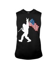 America Flag Bigfoot Sleeveless Tee thumbnail