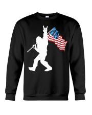 America Flag Bigfoot Crewneck Sweatshirt thumbnail