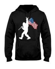 America Flag Bigfoot Hooded Sweatshirt thumbnail