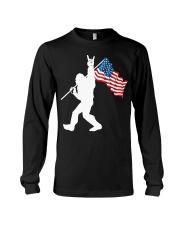 America Flag Bigfoot Long Sleeve Tee thumbnail