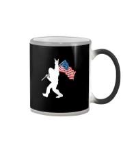 America Flag Bigfoot Color Changing Mug thumbnail