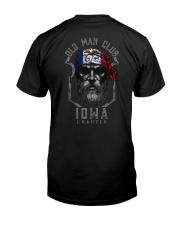 Old man club Iowa 9998 0037 Classic T-Shirt back