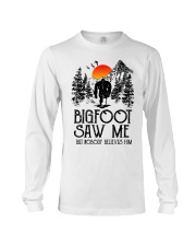 Bigfoot Saw Me 2 sale Long Sleeve Tee thumbnail