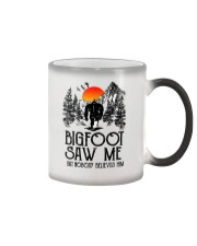 Bigfoot Saw Me 2 sale Color Changing Mug thumbnail