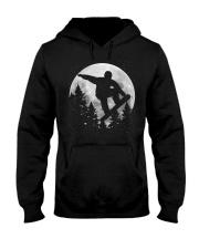 Snowboard Moon Hooded Sweatshirt front