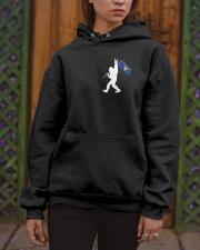 Oregon - Bigfoot Flag 2 sides Hooded Sweatshirt apparel-hooded-sweatshirt-lifestyle-front-03
