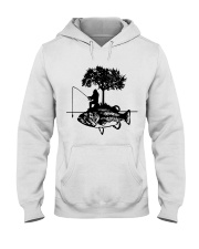 Bigfoot and fish - Year end sale Hooded Sweatshirt thumbnail