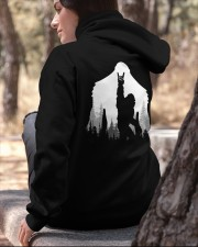Bigfoot Rock and Roll - two side Hooded Sweatshirt apparel-hooded-sweatshirt-lifestyle-06