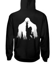 Bigfoot Rock and Roll - two side Hooded Sweatshirt back