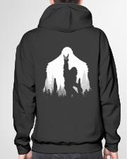 Bigfoot Rock and Roll - two side Hooded Sweatshirt garment-hooded-sweatshirt-back-04