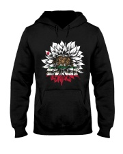 Sunflower California flag 0037 Hooded Sweatshirt front