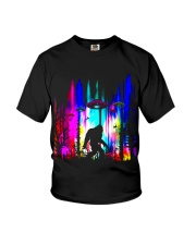 Bigfoot Forest UFO BT Youth T-Shirt thumbnail
