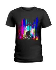 Bigfoot Forest UFO BT Ladies T-Shirt thumbnail