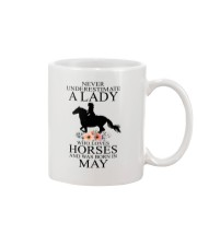 A lady who loves horses and was born in May Mug thumbnail