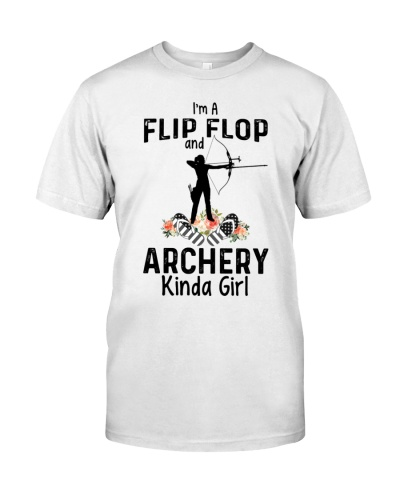 I am a flip flop and archery 0037