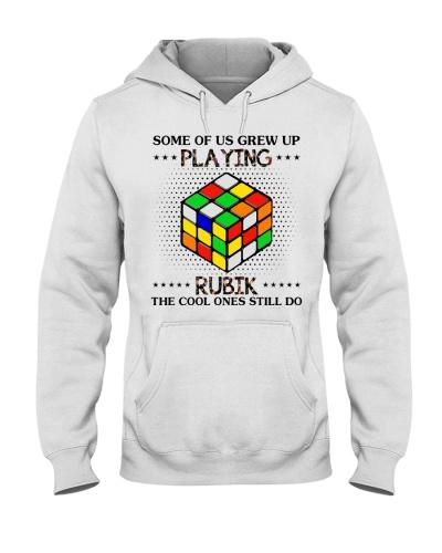 playing rubik
