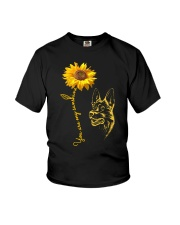 You are my sunshine - german shepherd dog Youth T-Shirt tile