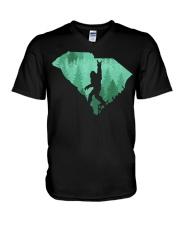Bigfoot - Carolina South V-Neck T-Shirt thumbnail