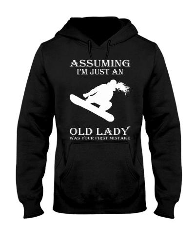 snowboard assuming