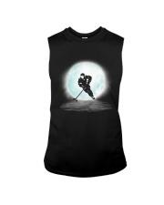 Playing hockey under the moon Sleeveless Tee thumbnail