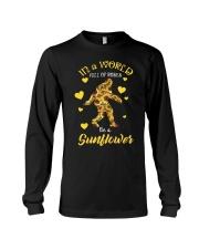 Bigfoot Sunflower sale Long Sleeve Tee thumbnail