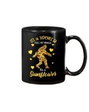 Bigfoot Sunflower sale Mug thumbnail