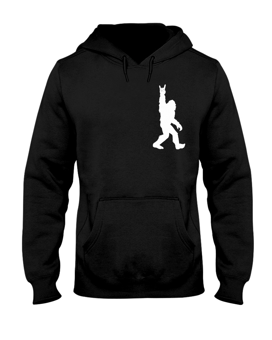 Bigfoot Rock and Roll 2 sp Hooded Sweatshirt