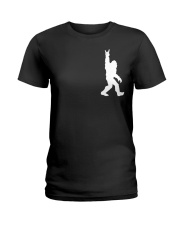 Bigfoot Rock and Roll 2 sp Ladies T-Shirt thumbnail