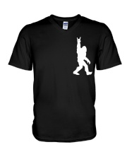 Bigfoot Rock and Roll 2 sp V-Neck T-Shirt thumbnail