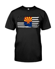 American and Arizona map 9993 0037 Classic T-Shirt tile