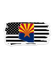 American and Arizona map 9993 0037 Sticker tile