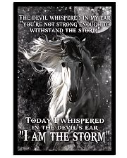 I am the storm horse poster 11x17 Poster front