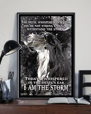 I am the storm horse poster 11x17 Poster lifestyle-poster-2