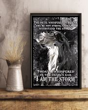 I am the storm horse poster 11x17 Poster lifestyle-poster-3