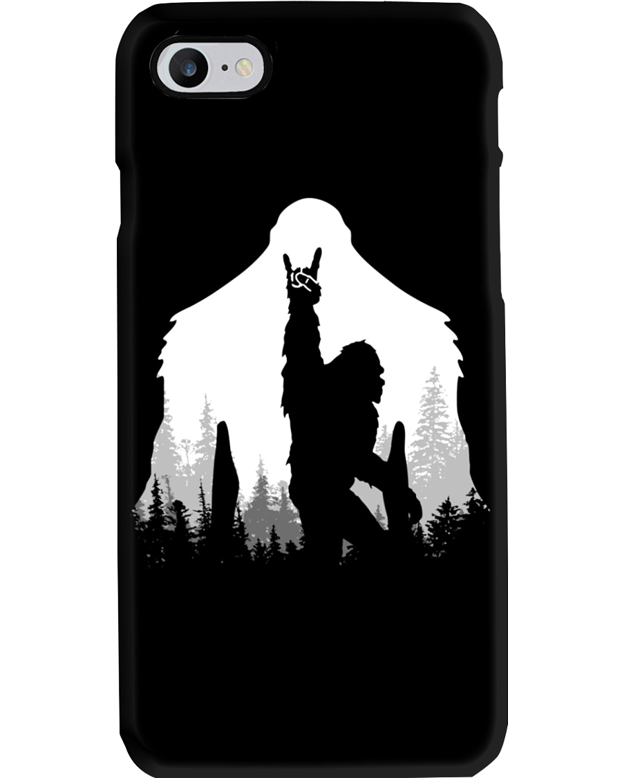 Phone case - Bigfoot Rock and Roll Phone Case